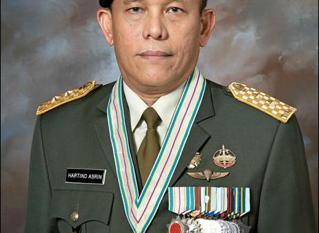 MAYOR JENDERAL TNI HARTIND ASRIN