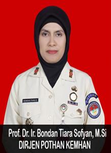 Prof. Dr. Ir. Bondan Tiara Sofyan, M.Si