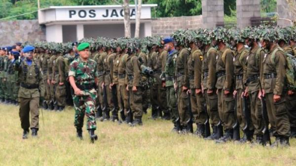 62 Pelajar Garut Jadi Komponen Cadangan TNI