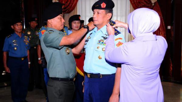 Panglima TNI Pimpin Sertijab Kasum TNI