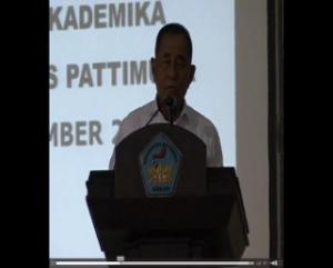 kuliah umum Univ.Pattimura