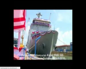 peresmian kapal PKR