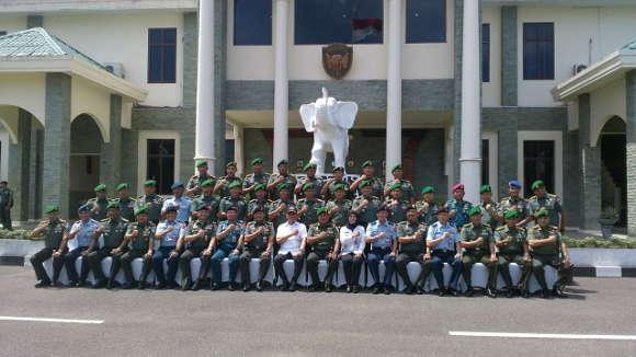 040718 Menhan di Kodam IM Aceh