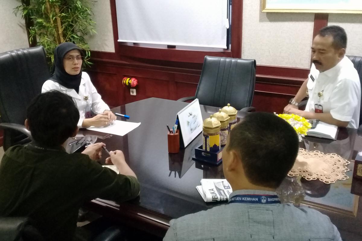 Wawancara Dirjen Pothan dengan wartawan Republika